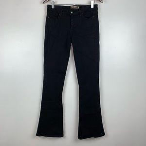 PAIGE Lou Lou Black Flare Jeans 30 J3525